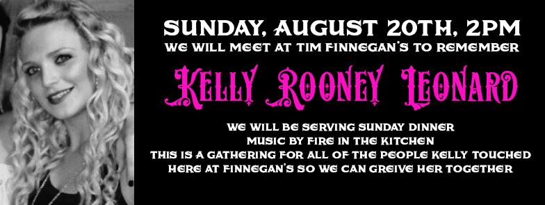 Memorial for Kelly Rooney Leonard