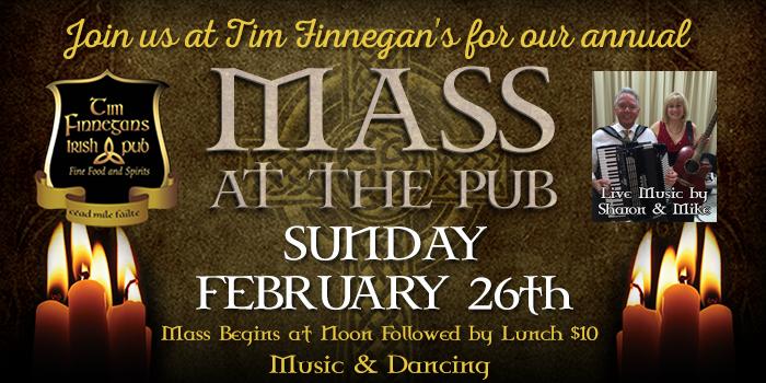 Mass at the Pub