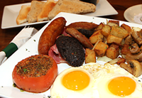 Traditional Irish Breakfast at Tim Finnegan's