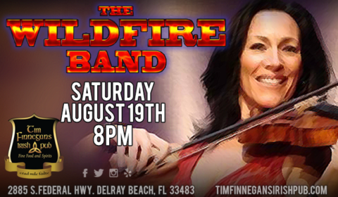 The Wildfire Band at Tim Finnegan's
