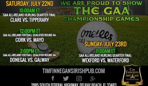 GAA Championship Games