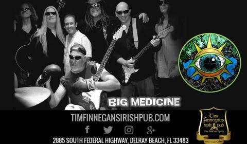Big Medicine Live at Tim Finnegan's