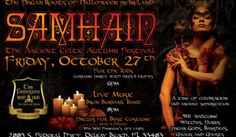 Samhain Halloween Party